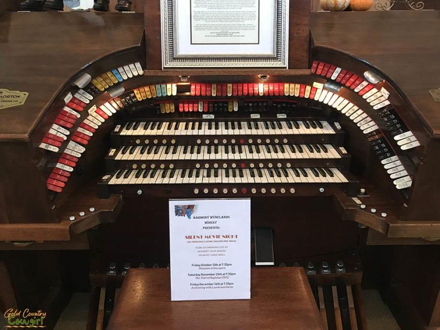 Harmony Wynelands organ