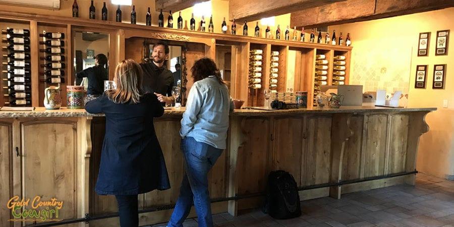 Casa Rondeña Winery tasting room