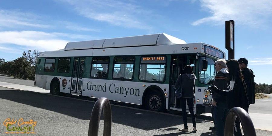 Grand Canyon free shuttle