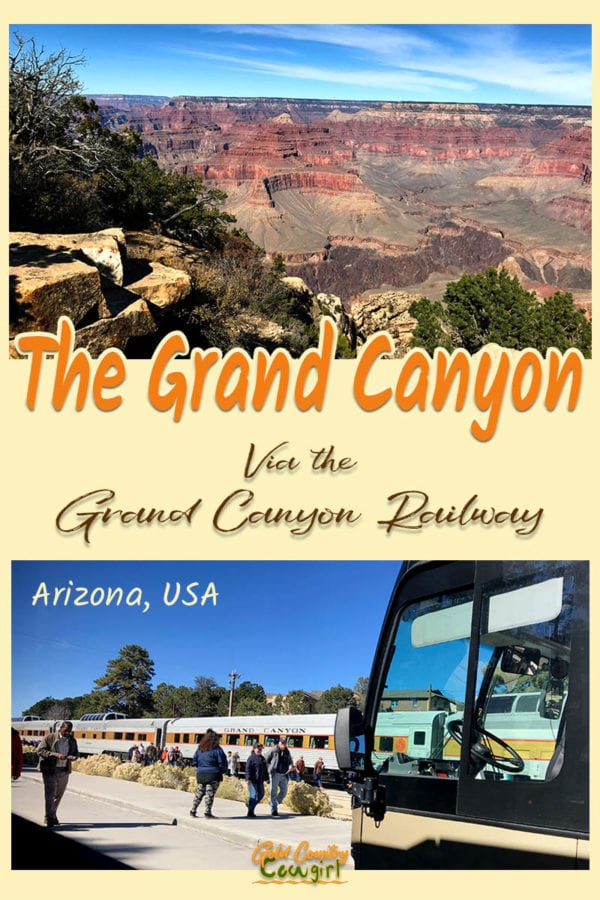 I love trains so I knew that combining the Grand Canyon Railway with seeing the Grand Canyon would be the highlight of my trip.