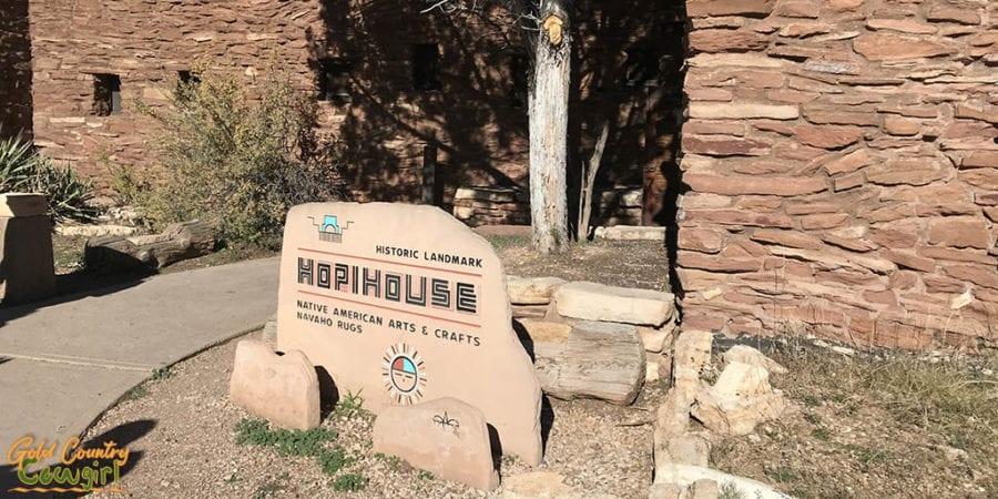 Hope House sign at Grand Canyon