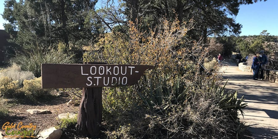 Lookout Studio sign