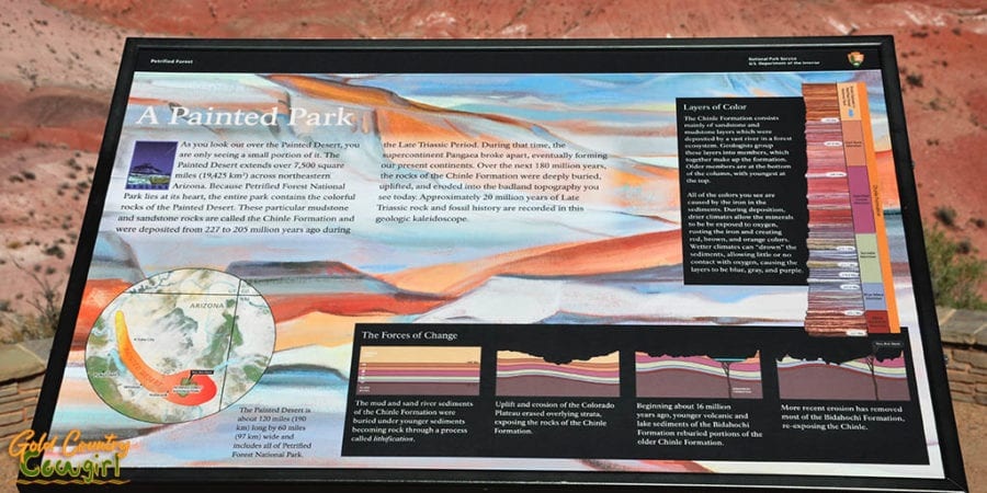 Painted Desert plaque