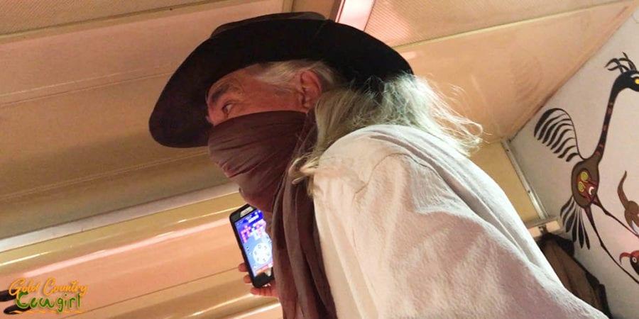 Train outlaw on Grand Canyon Railway