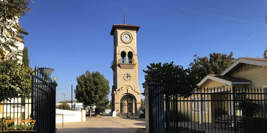 Beale Memorial Clock Tower, Kern County Museum, Bakersfield, CA