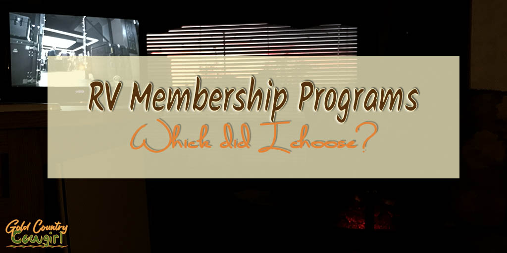 A Newbie's Favorite RV Membership Programs