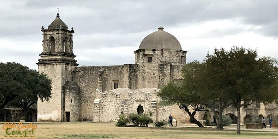 San Antonio Mission Trail San Jose Mission - must see on a California to Texas RV trip