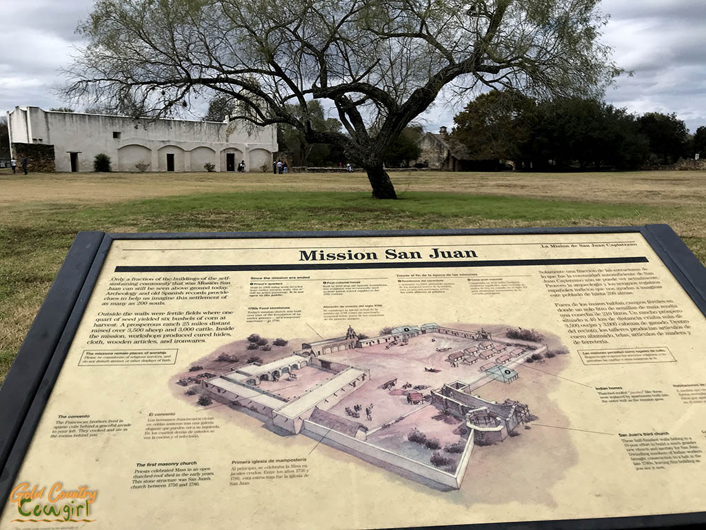 San Antonio Mission Trail San Juan Mission description