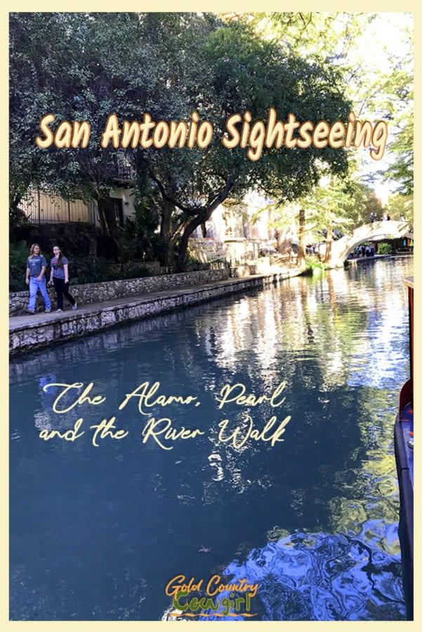 I purchased my hop-on hop-off ticket, added the Rio Cruises River Walk tour, and made my way inside the Alamo to begin my San Antonio sightseeing adventure. #SanAntonio #Alamo #Texas #Pearl #RiverWalk #travel #tourism