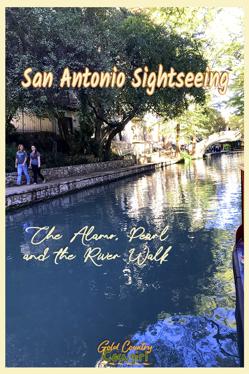 I purchased my hop-on hop-off ticket, added the Rio Cruises River Walk tour, and made my way inside the Alamo to begin my San Antonio sightseeing adventure. #SanAntonio #Alamo #Texas #Pearl #RiverWalk #travel #tourism