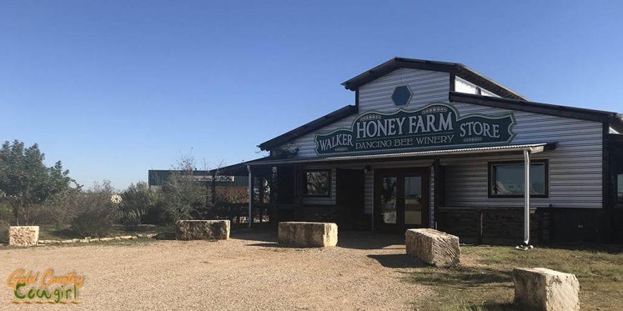 Walker Honey Farm store exterior