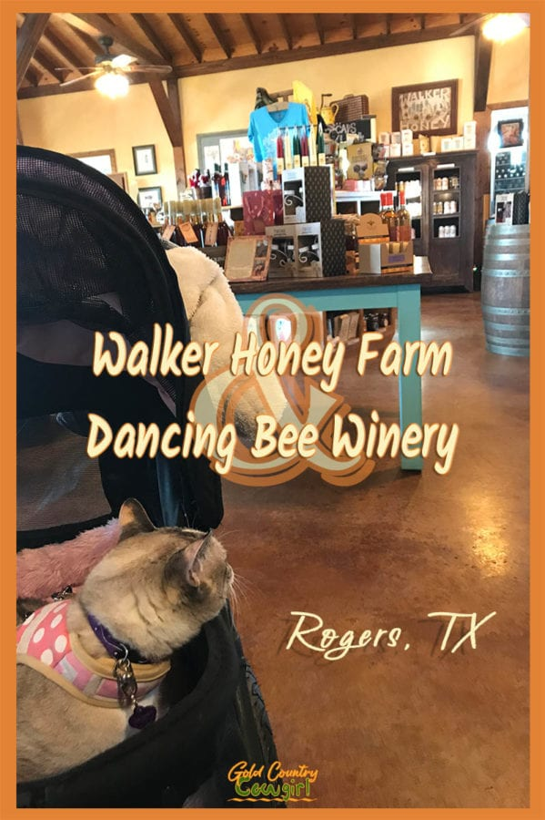 Walker Honey Farm and Dancing Bee Winery in Rogers, TX, may be a little off the beaten path but well worth a visit for amazing raw honey and honey wine.