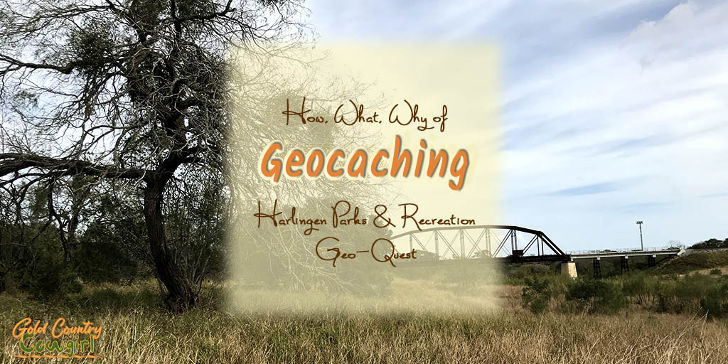 Geocaching with Harlingen Parks and Recreation