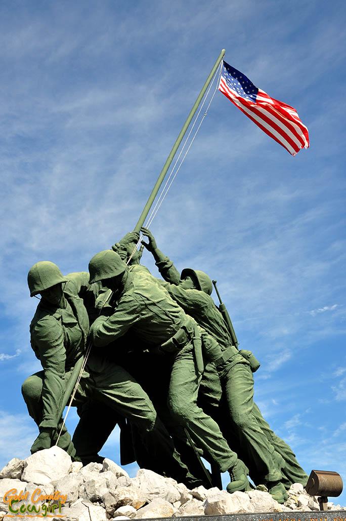 Iwo Jima Monument v