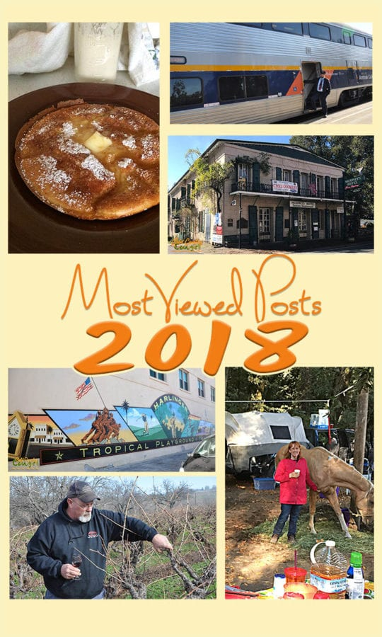 This is one of my favorite posts to do during the year. It is so fun to look back over articles and see what was popular and resonated with my readers. #travel #wine #food