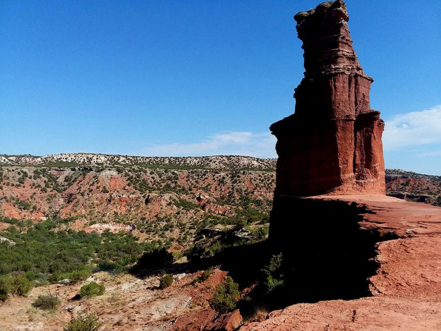 Bucket list worthy things to do in Texas - The Lighthouse at Palo Duro Canyon