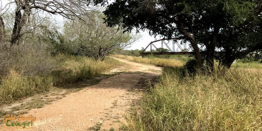 Trail at Harlingen Thicket and bridge