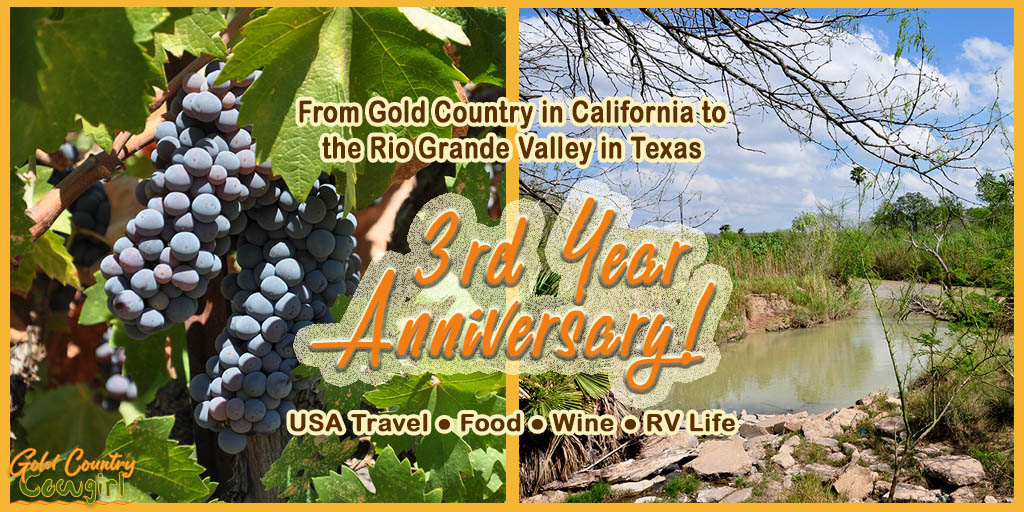 I'm celebrating the 3rd year anniversary of the blog with a video walk down memory lane, a toast with California wine and a giveaway. Come on by!