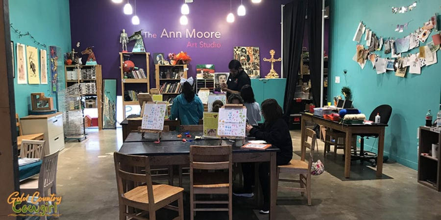 Ann Moore Art Studio at IMAS