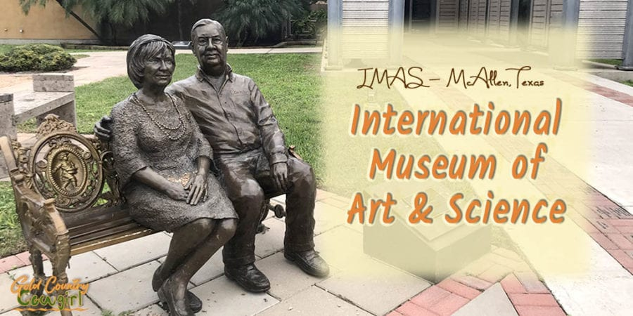 The International Museum of Art & Science in McAllen, Texas, has many interactive exhibits that are educational for adults and children alike.