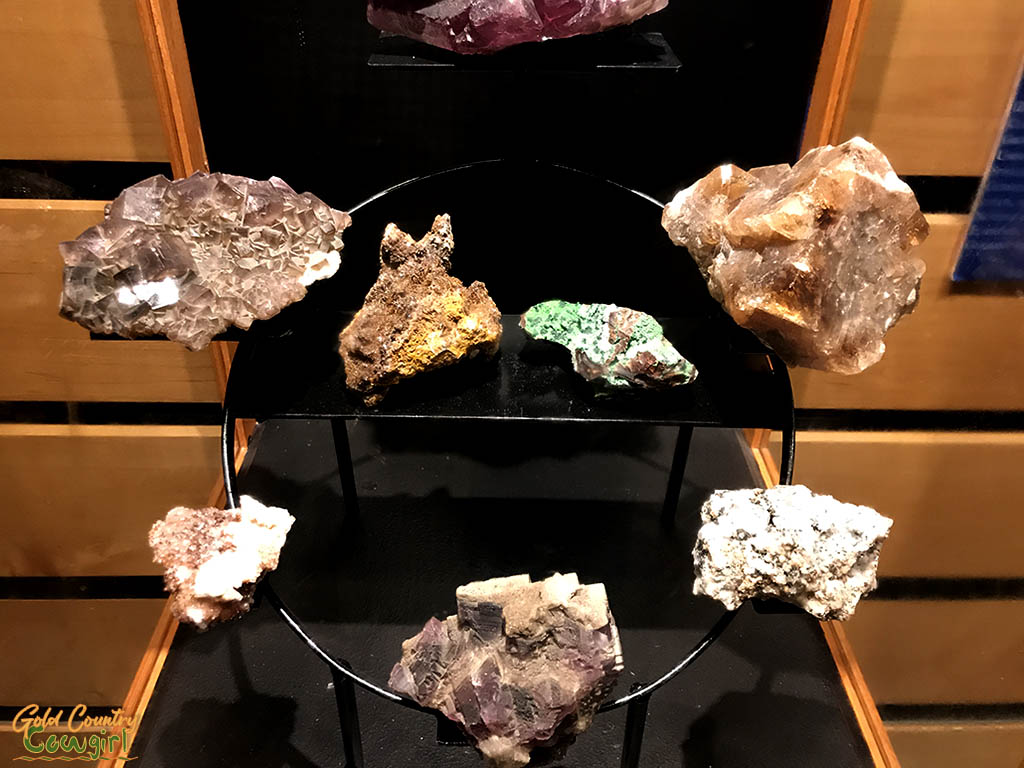 Rocks and minerals at International Museum of Art & Science