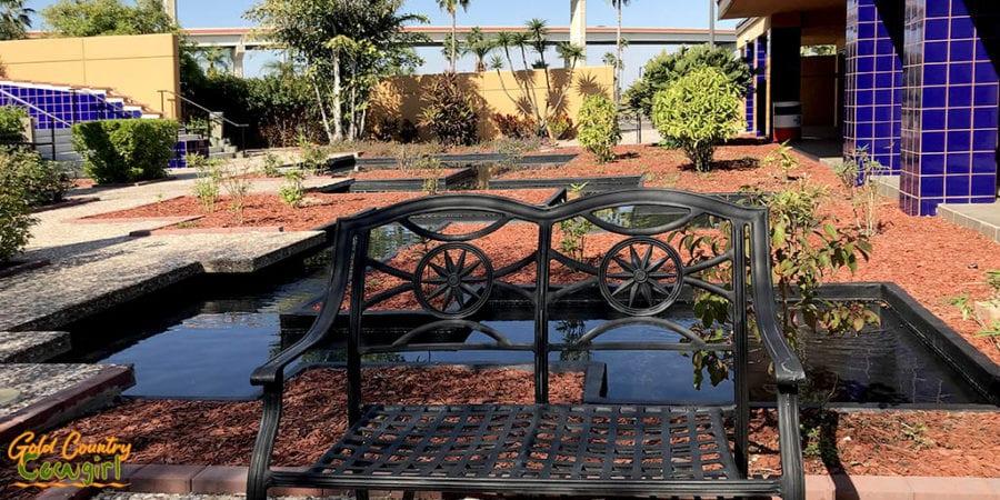Texas Travel Information Center garden