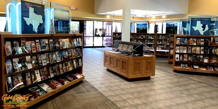 Texas Travel Information Center interior 2