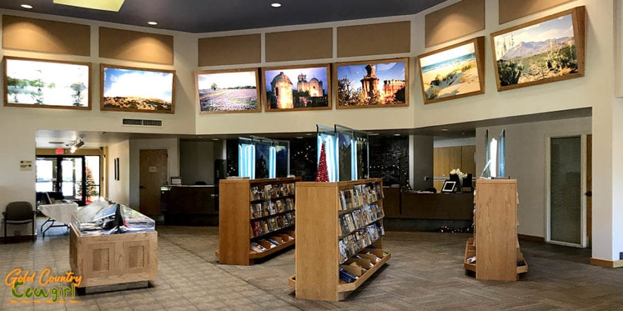 Texas Travel Information Center interior