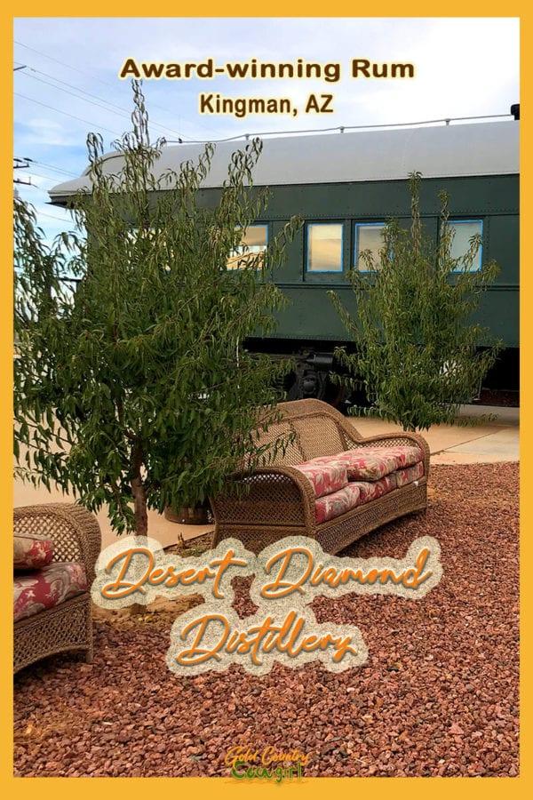 Photo of Desert Diamond Distillery exterior with Pullman train car