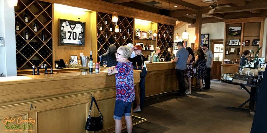 Eberle Winery tasting room