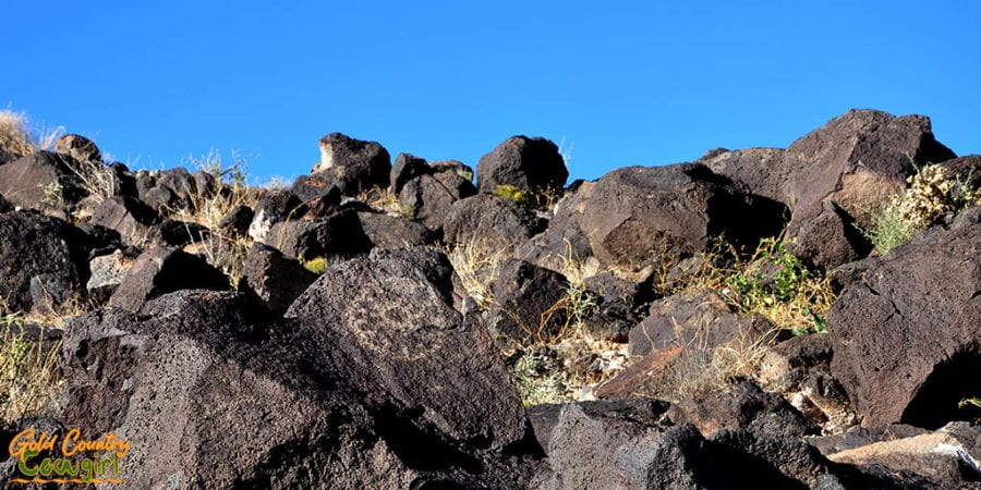 Piedras Marcadas Canyon petroglyph - an awesome addition to my California to Texas RV itinerary