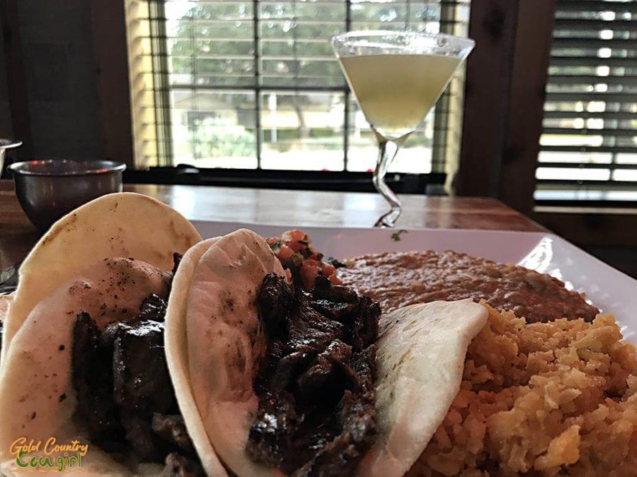 Tacos at Casa Azteca Mexican Bar & Grill