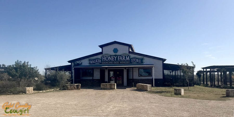 Walker Honey Farm store and tasting room exterior - a little off the beaten path but worth adding to any California to Texas RV itinerary