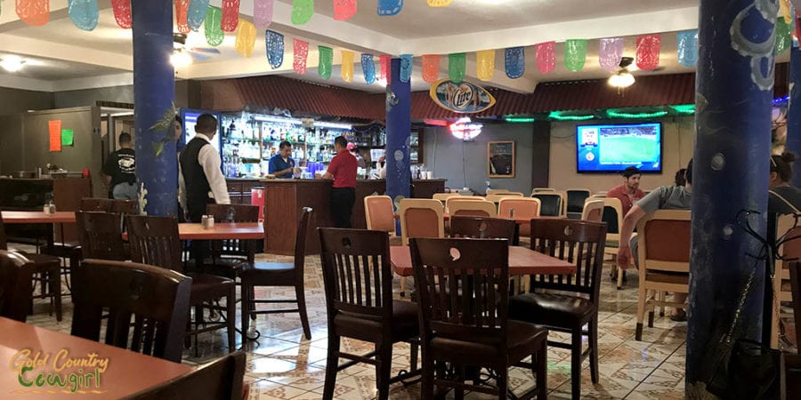 Red Snapper bar and interior
