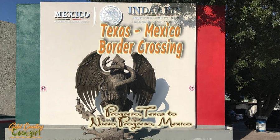 Texas Mexico Crossing