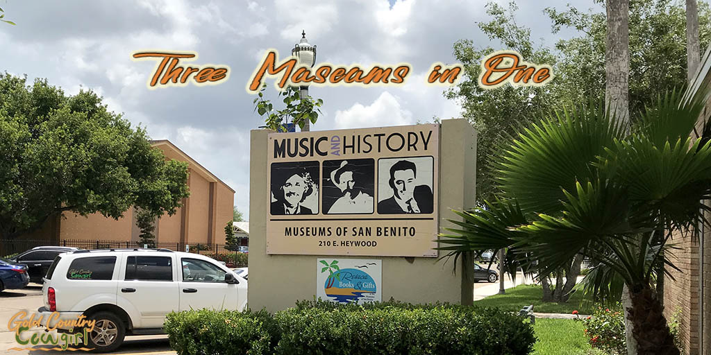 Sign at entrance of Museums of San Benito