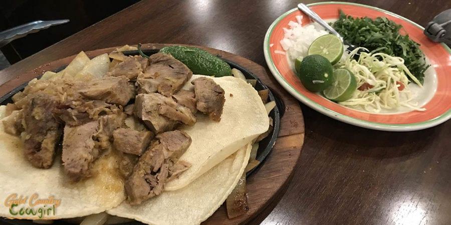 Palenque Grill carnitas parrilladas