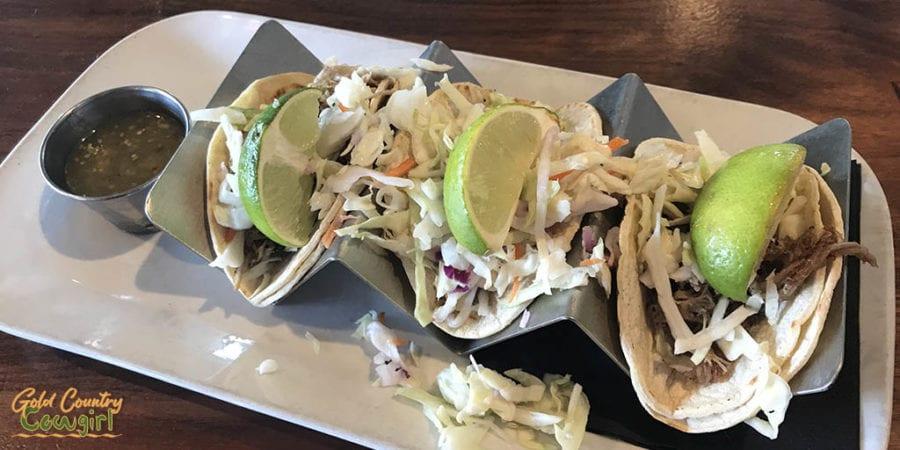 Village Inn street tacos