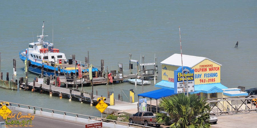 Dolphin Docks in Port Isabel