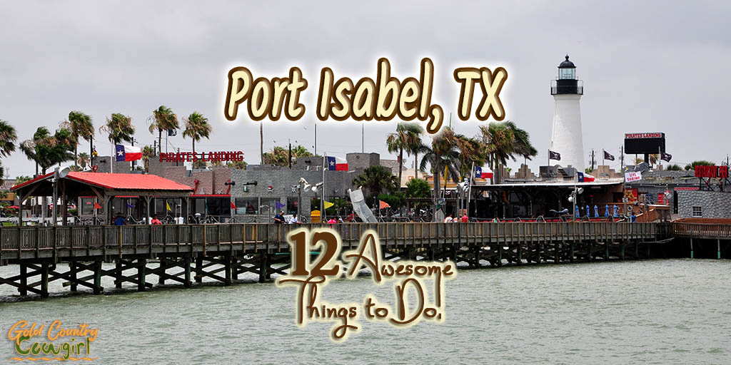 View of Port Isabel from Pirate's Landing Fishing Pier