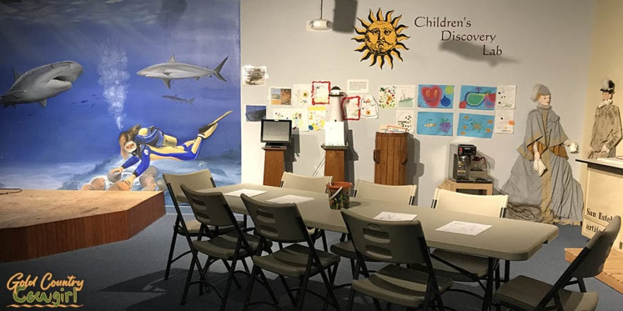 Children's Discovery Lab at Treasures of the Gulf Museum