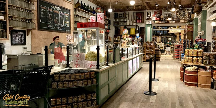 general store counter in Bass Pro Shops
