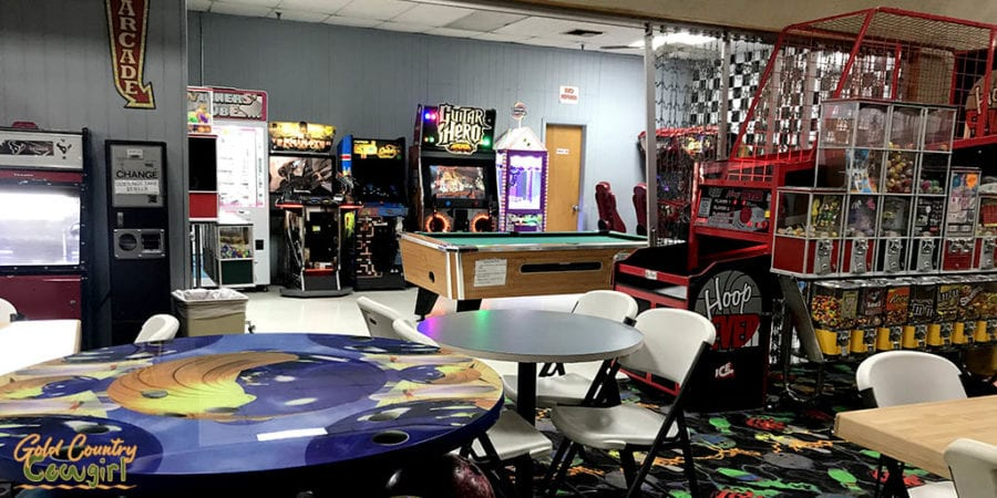 arcade at Creasey's Bowl