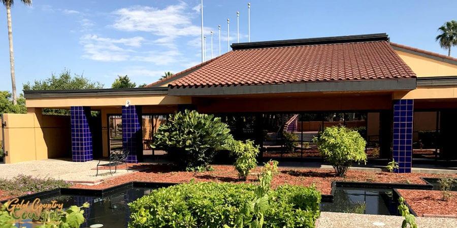 Texas Travel Information Center exterior back