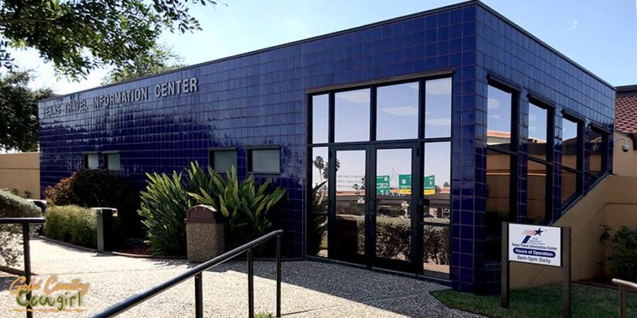 Texas Travel Information Center exterior front