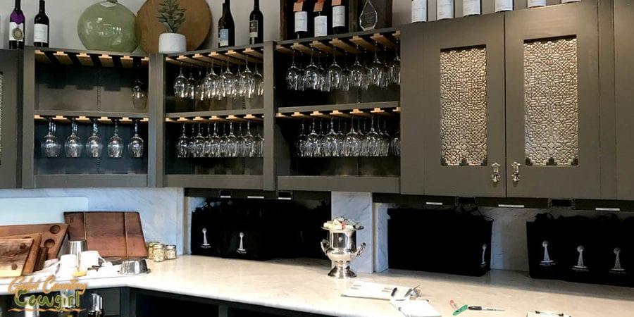 Signor Vineyards wine tasting room