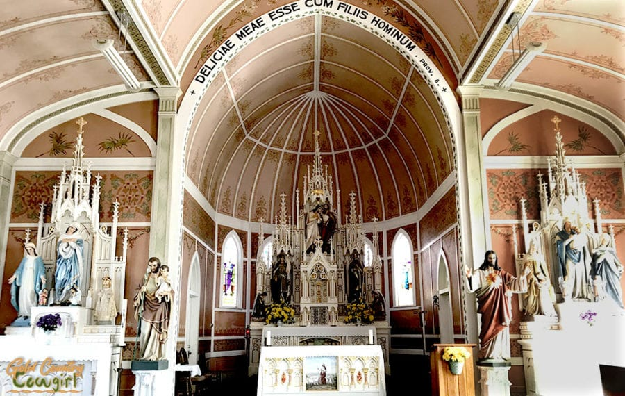 St. John the Baptist Church alter