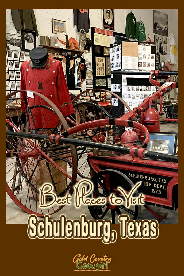 Schulenburg Museum with text overlay: Best Places to Visit Schulenburg, Texas