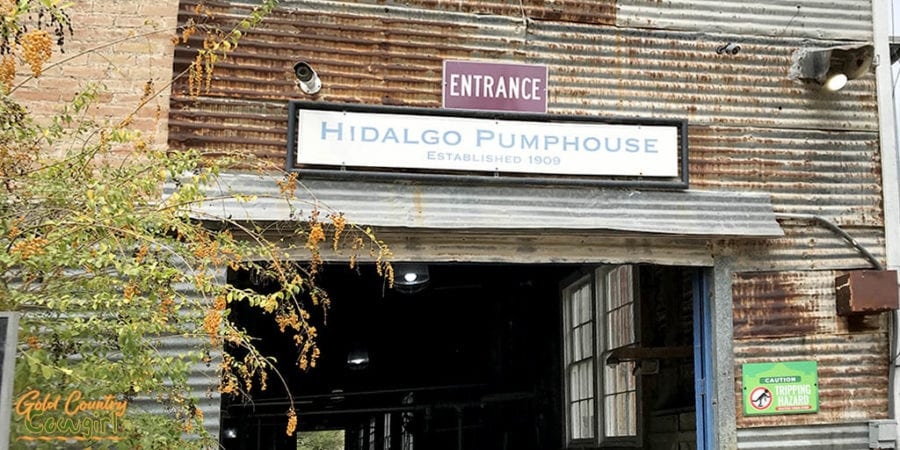 Entrance to Old Hidalgo Pumphouse Museum